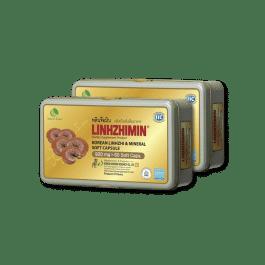 หลินจือมิน (ผลิตภัณฑ์เสริมอาหาร) 2 กล่อง Special Promotion