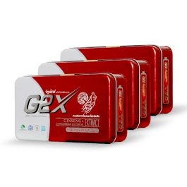 จีทูเอ๊กซ์ (60 แคปซูล) 3 กล่อง