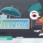 หน้าฝน : ระวังโรคตาแดง